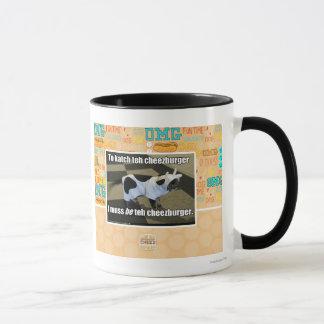 To katch teh cheezburger mug