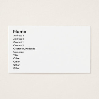 To Kayak Business Card