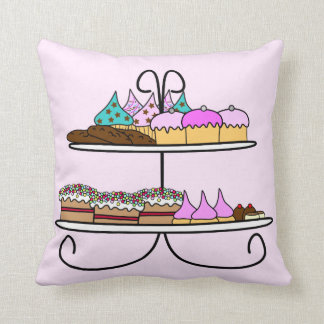 To kiss cup cake and taartjes cushion