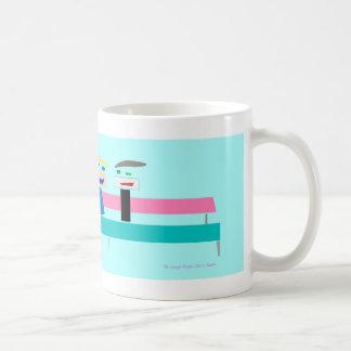 To Laugh, by Chris Plante Coffee Mug