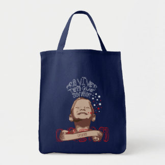 To live it has that to dream grocery tote bag