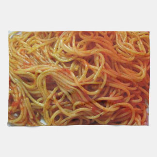 To Love Spaghetti Tea Towel