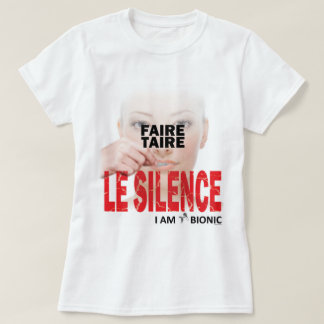 to make conceal silence T-Shirt