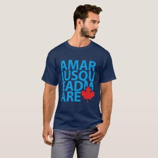 To Mari Usque Ad Mare Canada Motto T-Shirt