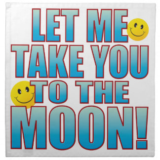 To Moon Life B Napkin