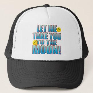To Moon Life B Trucker Hat