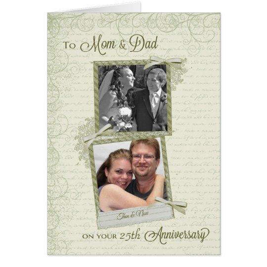 To Mum & Dad on __th Anniversary-Custom Then