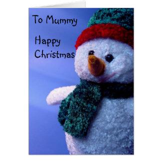 To Mummy, Happy Christmas Card