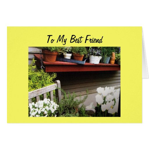 TO MY BEST FRIEND ON YOUR 50TH BIRTHDAY CARD
