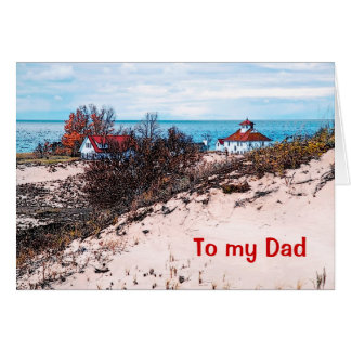 To my Dad Greeting Card