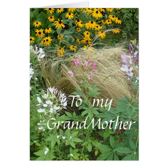 To My GrandMother Card