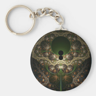 To My Green-eyed Monster Basic Round Button Key Ring