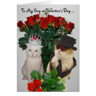 To My Guy Greeting Cards