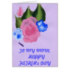 TO MY MOM   HAPPY FATHER's DAY Card