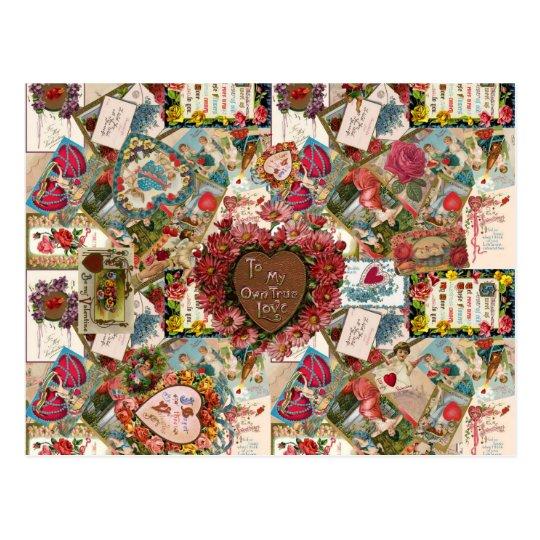 To My Own True Love ~ Vintage Valetines