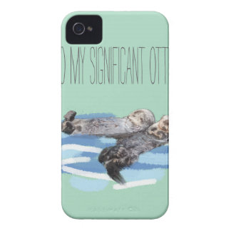 To My Significant Otter iPhone 4 Covers