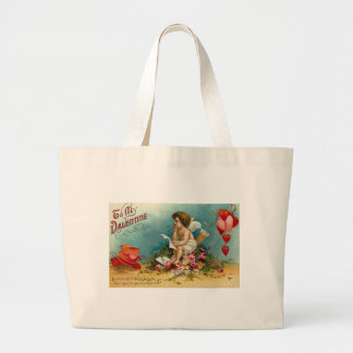 To My Valentine (10) Canvas Bags
