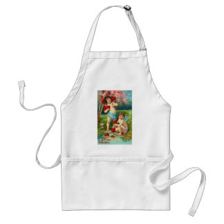 To My Valentine Cupids at the River Adult Apron