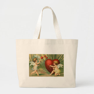 To My Valentine Two Cupids Bag