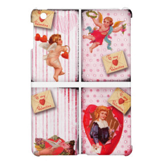 To My Valentine Vintage Valentine s Day Cupid iPad Mini Cases
