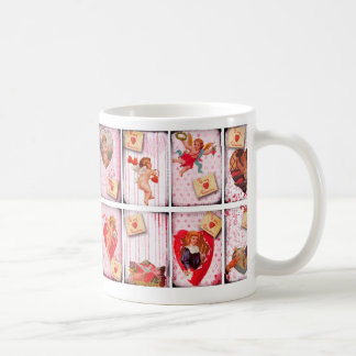 To My Valentine Vintage Valentine s Day Cupid Coffee Mugs
