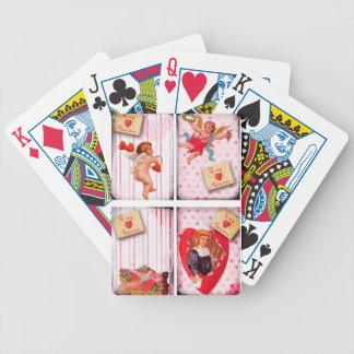 To My Valentine Vintage Valentine s Day Cupid Card Deck