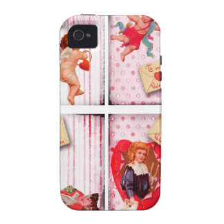 To My Valentine Vintage Valentine's Day Cupid iPhone 4/4S Cover
