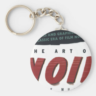 to noir art keychain