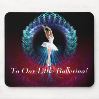 To Our Little Ballerina Mousepads