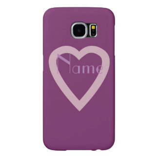 To Paris  Pink  Heart Samsung Galaxy S6 Cases