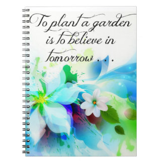 """""""To plant a garden . . . """" Journal"""