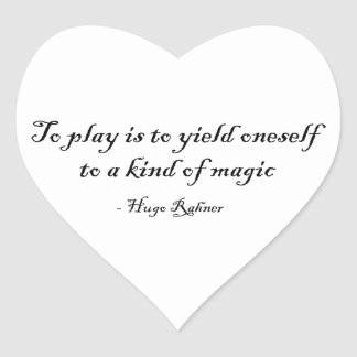 To Play is Magic Sticker