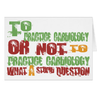 To Practice Cardiology Cards
