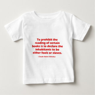 To Prohibit The Reading of Certain Books Tee Shirt