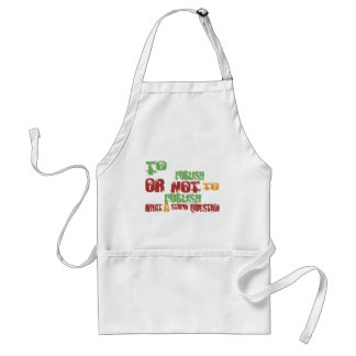 To Publish Aprons