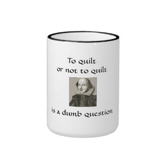 to quilt or not to quilt ringer mug