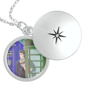 to remember round locket necklace