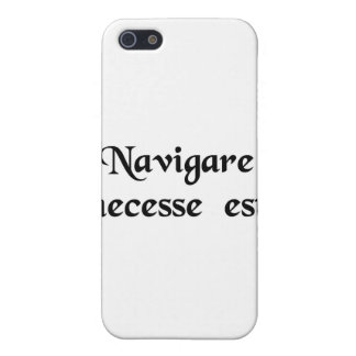 To sail is necessary. iPhone 5 cover