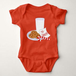To Santa, Baby Bodysuit