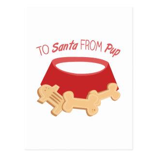 To Santa Postcard