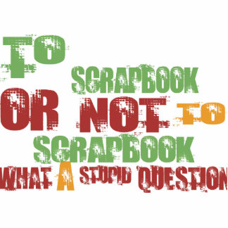 To Scrapbook Photo Sculpture