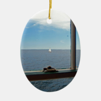 To Sea, To Sea Christmas Ornament