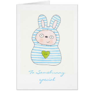 To Somebunny special Card