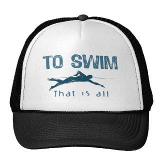 To Swim Cap