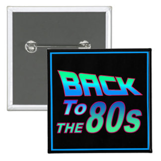 To the 80s 1 15 cm square badge