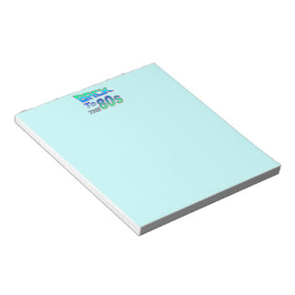 To the 80s 2 notepads