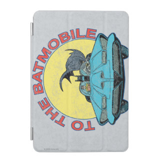 To The Batmobile - Distressed Icon iPad Mini Cover