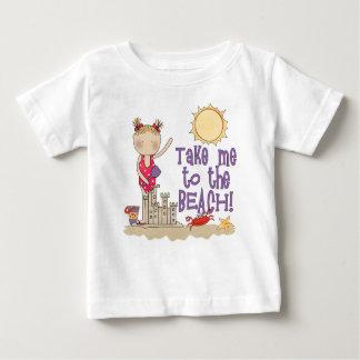 To the Beach (Girl) Baby T-Shirt