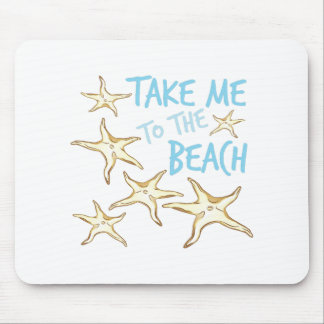 To The Beach Mouse Pad