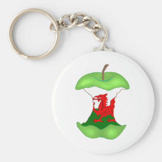 'to the core' Wales Key Ring